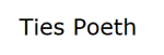 Ties Poeth Logo
